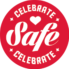 Label Celebrate Safe