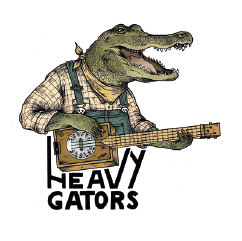 Heavy Gator promotion et diffusion
